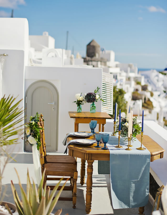 Styling Services - Weddings & Whimsy Santorini