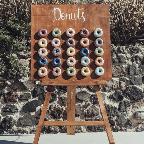 Wooden Donut Board & Easel