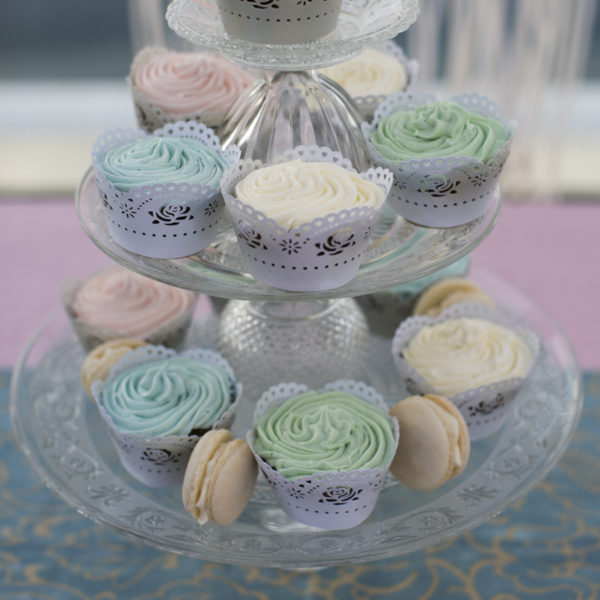 In house designed cup cake stand