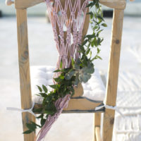 Macrame and sweet treats served in Santorini