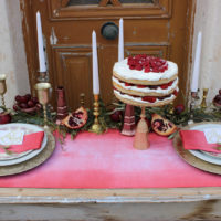 Ombre, naked cake, metallics, rustic, nature