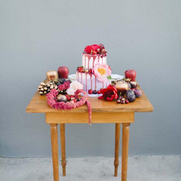 wooden table, desserts, sweet treats
