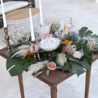 Tropical, bridal inspiration
