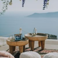 Proposal in Santorini, plan your proposal with us