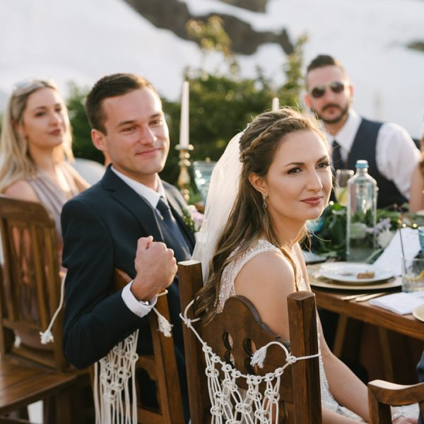 Macrame, boho. white elegance, caldera event, styled for you