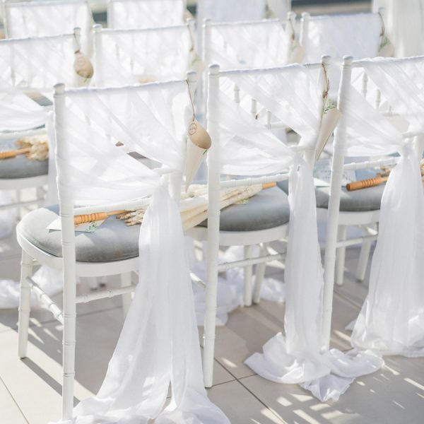 Chair decoration sashes