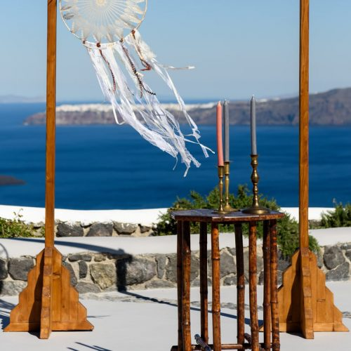 unique, creative, Santorini, destination wedding, accessories, decor, decoration, bridal inspiration