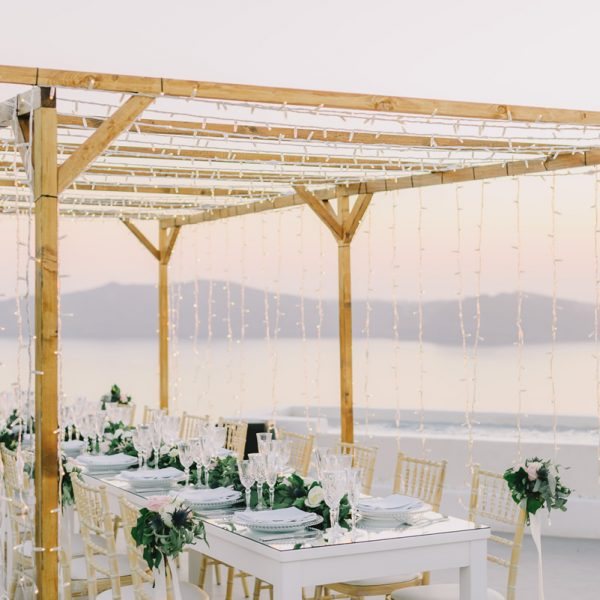 wedding planners, venues, Santorini, destination, decoration, wedding decor, inspiration, props, accessories, rentals