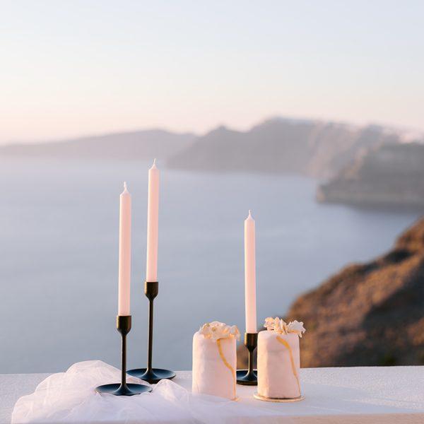 wedding decor, props, wedding rentals, santorini wedding, destination event, micro wedding
