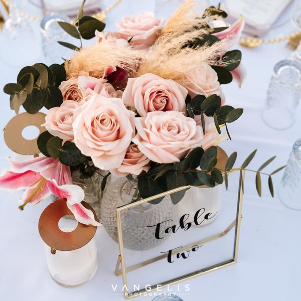 signs, name tags, place cards, escort cards, wedding decoration inspiration, Santorini destination wedding and events