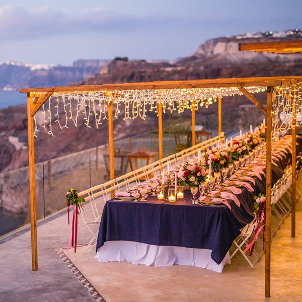wedding planners, venues, Santorini, destination, decoration, wedding decor, inspiration, props, accessories, rentals